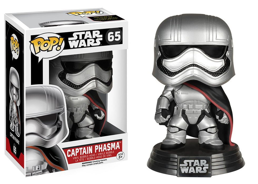 Funko Pop! Star Wars - The Force Awakens Captain Phasma Vinyl Figure - Characters Co
