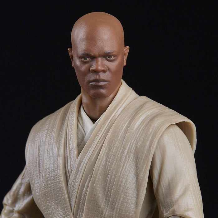 "Star Wars The Phantom Menace - Black Series Mace Windu 6"" Scale Collectible Action Figure - Characters Co"