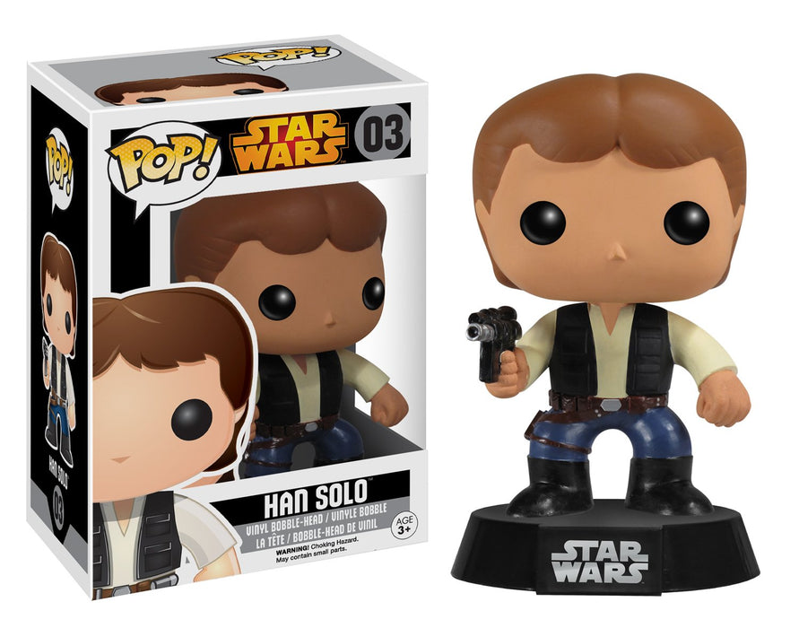 Funko Pop! Star Wars - Han Solo Black Box Vaulted Edition Vinyl Figure - Characters Co