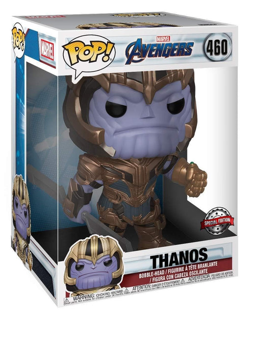 "10"" Thanos Endgame Funko Pop! Marvel Target Exclusive Vinyl Figure - Characters Co"