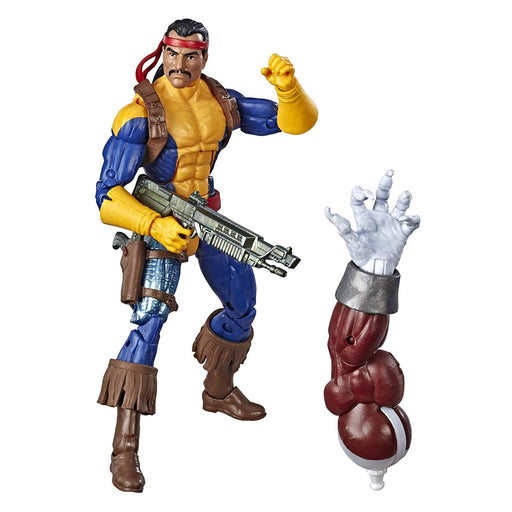 "Marvel Legends Series 6"" Collectible Action Figure Forge Toy (X-Men Collection) – with Caliban Build-A-Figure Part - Characters Co"