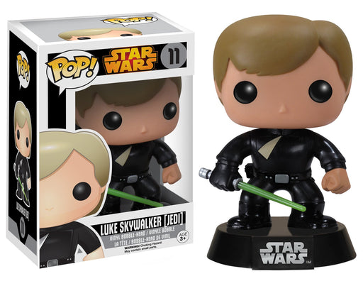 Funko Pop! Star Wars - Jedi Luke Skywalker Vaulted Edition Vinyl Figure - Characters Co