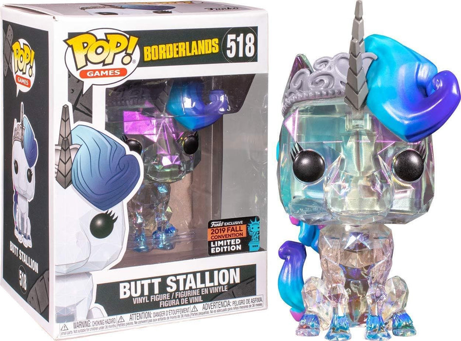 Funko Pop! Borderlands Butt Stallion NYCC Exclusive Shared Vinyl Figure - Characters Co