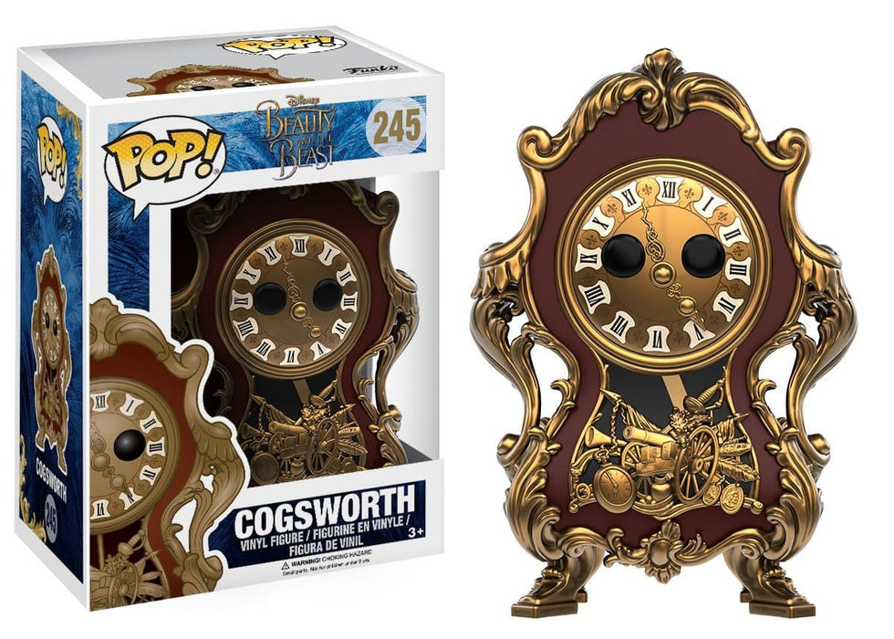 Funko Pop! Disney: Beauty & The Beast Cogsworth Vinyl Figure - Characters Co