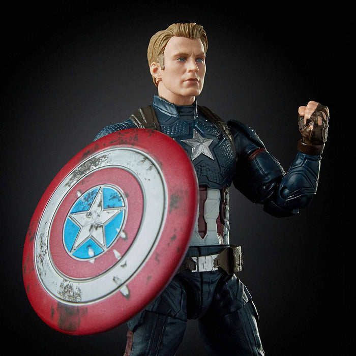 Marvel Legends Avengers Series, Captain America Worthy Avengers Endgame Walmart Exclusive Action Figure - Characters Co