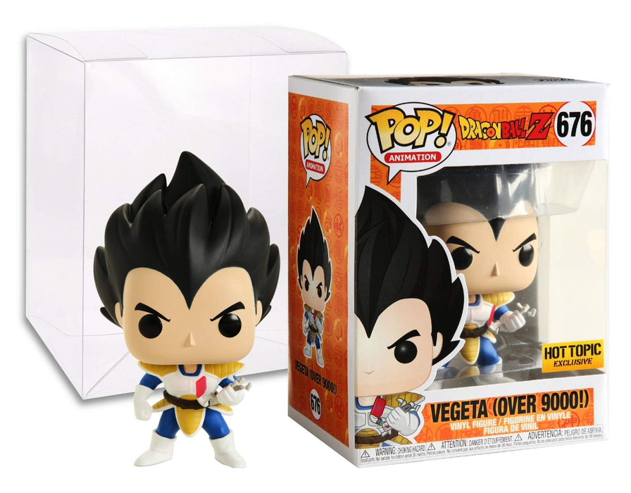 Funko Pop! Animation Dragon Ball Z Vegeta Over 9000! Hot Topic Exclusive Vinyl Figure - Characters Co