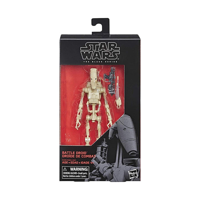 Star Wars The Phantom Menace - Black Series Battle Droid Action Figure - Characters Co