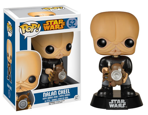 Funko Pop! Star Wars - Cantina Band Member Nalan Cheel Vaulted Blue Box Vinyl Figure - Characters Co