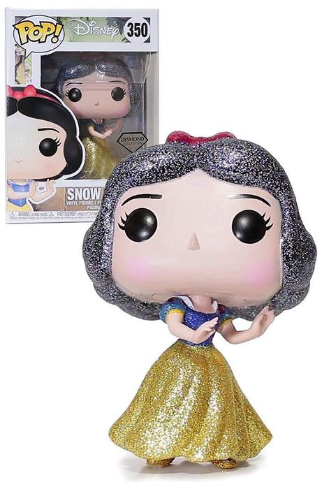 Funko Pop Movies: Disney - Diamond Snow White Hot Topic Exclusive Vinyl Figure - Characters Co