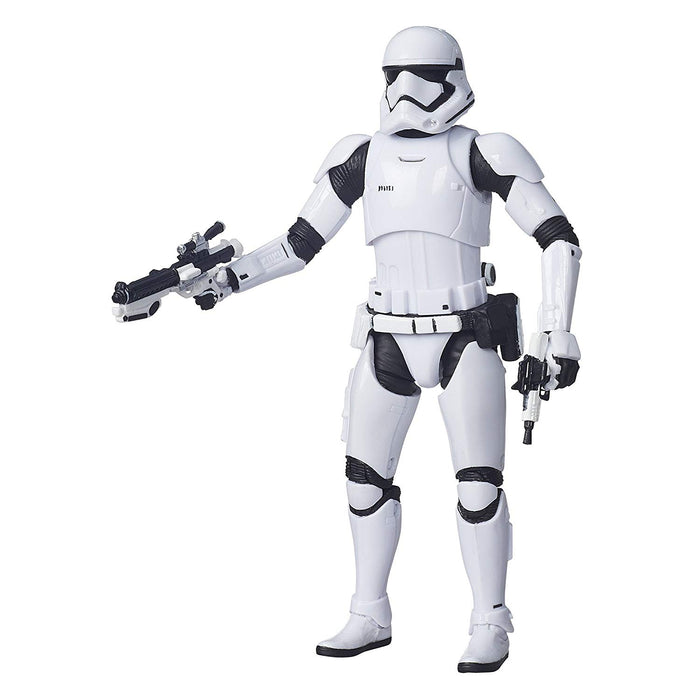 "Star Wars The Force Awakens - Black Series First Order Stormtrooper 6"" Action Figure - Characters Co"