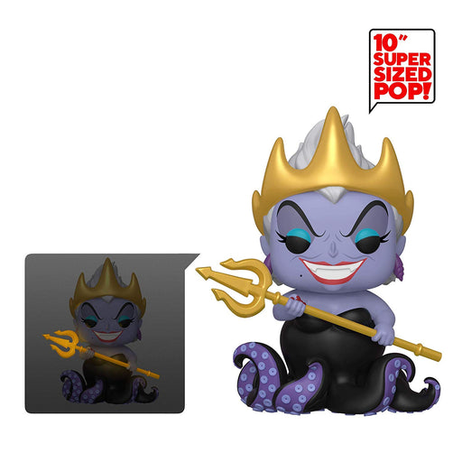 "10"" Ursula Funko Pop! Disney Little Mermaid Glow in the Dark Vinyl Figure - CharactersCo.com"