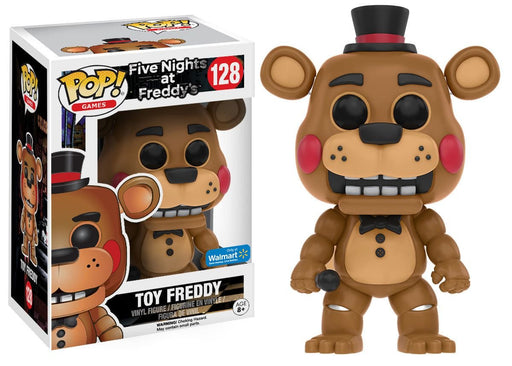 Funko Five Nights At Freddy's Limited Edition Toy Freddy Pop! Walmart Exclusive - Characters Co