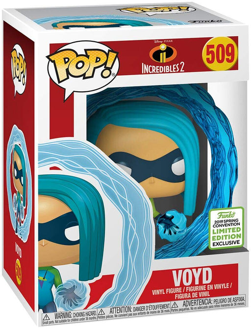 Funko Pop Disney Incredibles 2 - Voyd - 2019 Emerald City Comic Con Shared Vinyl Figure - CharactersCo.com