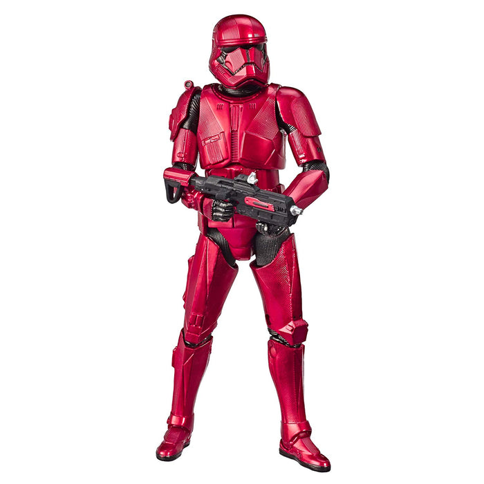 "Star Wars The Rise of Skywalker - Black Series Carbonized Sith Trooper 6"" Exclusive Action Figure - Characters Co"
