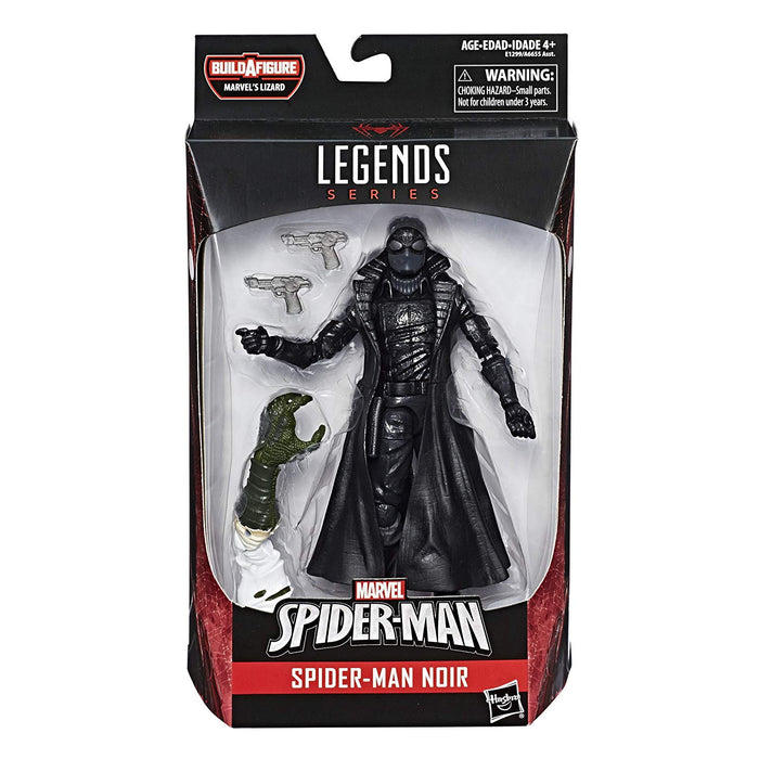 Marvel Legends Spider-Man Series, Spider-Man Noir, Lizard Wave Action Figure - CharactersCo.com