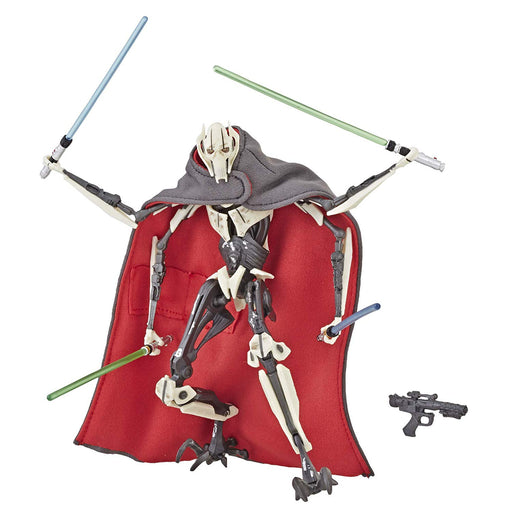 "Star Wars Revenge of the Sith - Black Series General Grievous 6"" Action Figure - Characters Co"