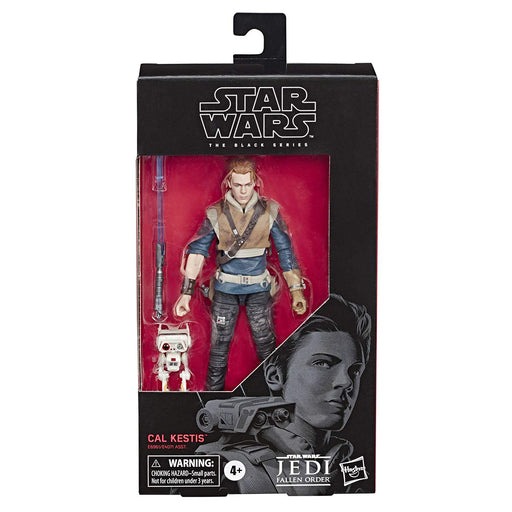 "Star Wars Jedi Fallen Order - Black Series Cal Kestis & BD-1 6"" Action Figure - Characters Co"