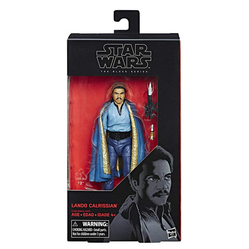 "Star Wars Empire Strikes Back -  Black Series Lando Calrissian 6"" Action Figure - Characters Co"
