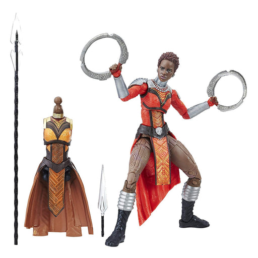 "Marvel Legends Black Panther Series - Marvel's Nakia Okoye BAF 6"" Action Figure - Characters Co"