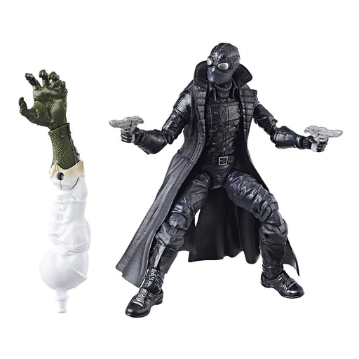 Marvel Legends Spider-Man Series, Spider-Man Noir, Lizard Wave Action Figure - Characters Co