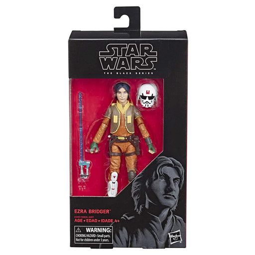 "Star Wars - Rebels Black Series  6"" Scale Ezra Bridger Collectible Action Figure - Characters Co"