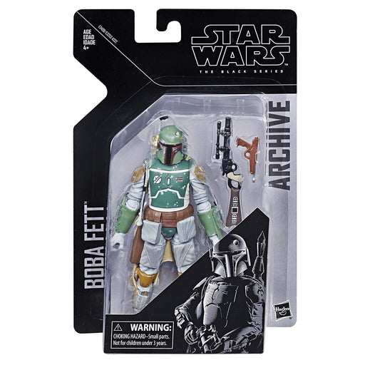 Star Wars Empire Strikes Back - Black Series Archive Collection Boba Fett Action Figure - Characters Co