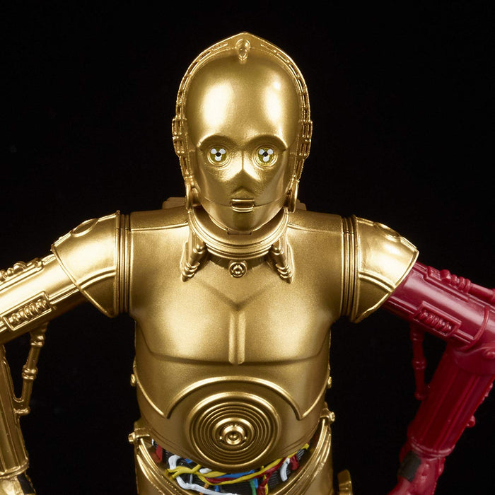 Star Wars The Force Awakens - Black Series C-3PO Resistance Base, Variant Bright Red Arm, Action Figure - Characters Co