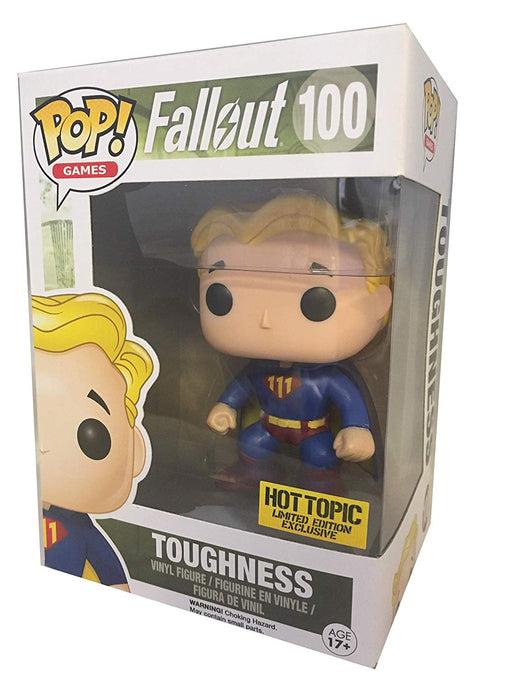 Funko Pop Games Fallout Toughness Vault Boy Mystery Hot Topic Exclusive Vinyl Figure - Characters Co
