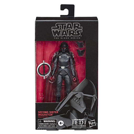 "Star Wars Jedi Fallen Order - Black Series Second Sister Inquisitor 6"" Action Figure - Characters Co"