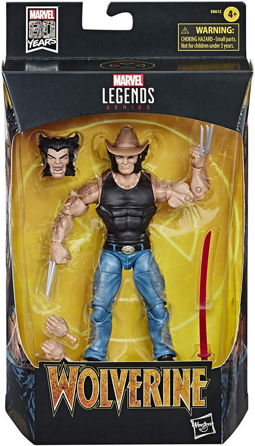 "Marvel Legends X-Men - Cowboy Logan Comic Exclusive 6"" Scale Action Figure - Characters Co"