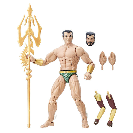 "Marvel Legends Black Panther Series - Sub-Mariner Okoye BAF 6"" Action Figure - Characters Co"