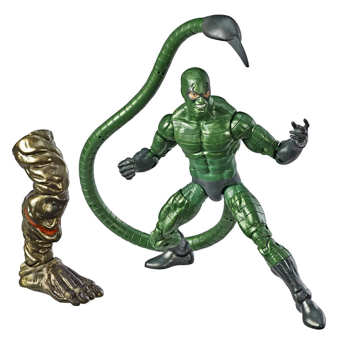 "Marvel Legends Spider-Man Collection - Scorpion, Molten Man BAF 6"" Action Figure - Characters Co"