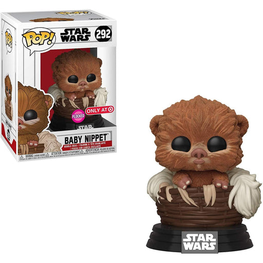Baby Nippet Flocked Funko Pop! Star Wars Exclusive Vinyl Figure - Characters Co