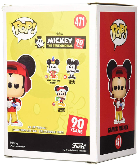 Gamer Mickey Funko Pop! Disney, Mickey 90 Years Gamestop Exclusive Vinyl Figure - Characters Co