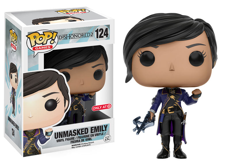 Funko Pop Games Dishonored 2 Unmasked Emily Target Exclusive Vinyl Figure - Characters Co