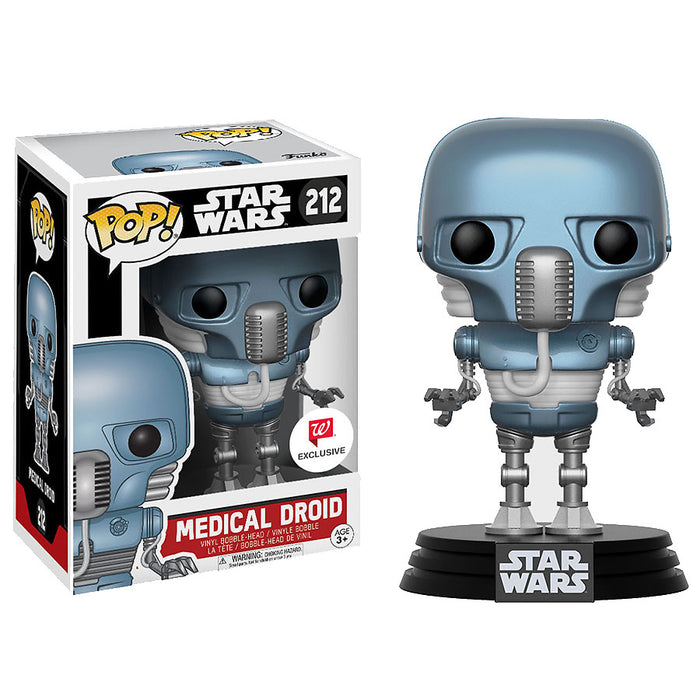Funko Pop! Star Wars Medical Droid Walgreens Exclusive Vinyl Figure - Characters Co
