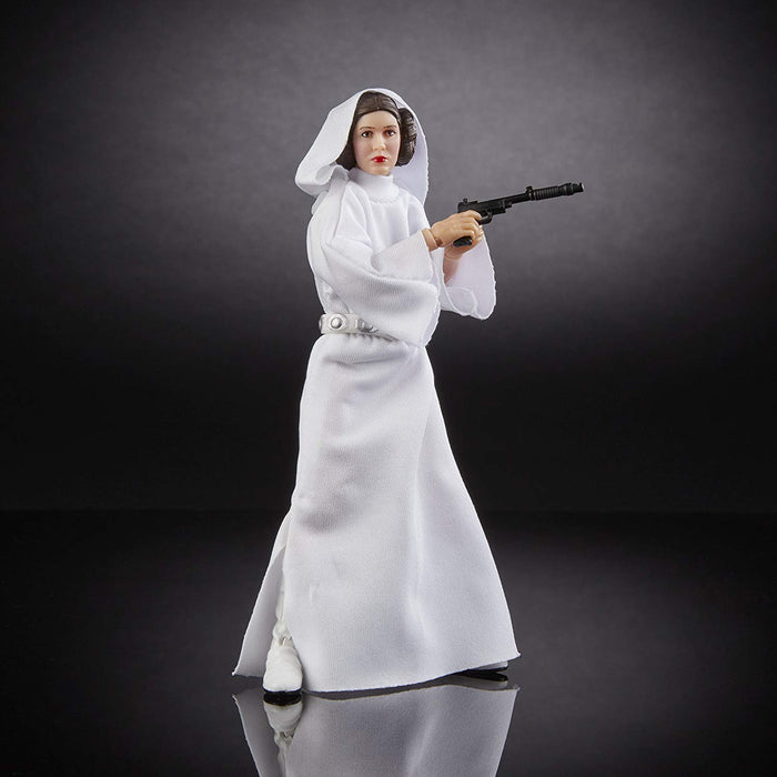 "Star Wars A New Hope - 40th Anniversary Princess Leia Organa 6"" Action Figure - Characters Co"