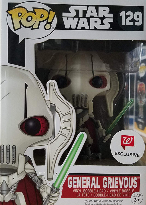 Funko Pop! Star Wars - General Grievous Walgreens Exclusive Vinyl Figure - CharactersCo.com