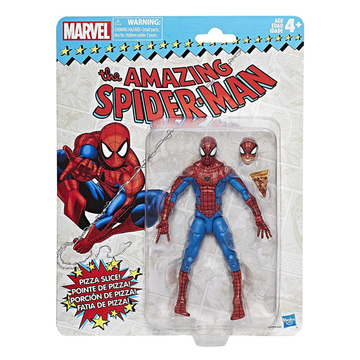Marvel Legends Vintage Collection Pizza Spider-Man Action Figure - Characters Co