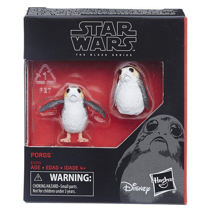 Star Wars The Last Jedi - Black Series Porgs 2-Pack Action Figure Set - CharactersCo.com