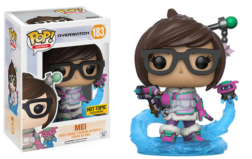 Funko Pop! Games Overwatch Mei #183 (Mid Blizzard) Hot Topic Exclusive Vinyl Figure - Characters Co