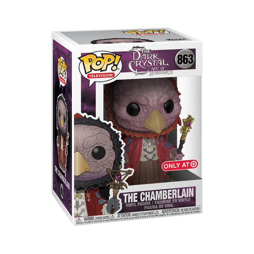 Funko Pop! Dark Crystal - The Chamberlain Skeksis Exclusive Vinyl Figure - Characters Co
