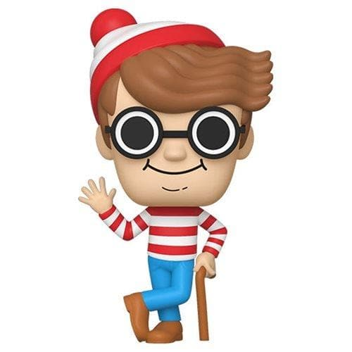 Funko Pop! Books Waldo Vinyl Figure (Pre-Order) - Characters Co