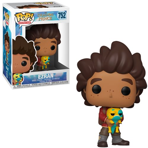 Funko Pop! Animation The Dragon Prince, Ezran Vinyl Figure - Characters Co