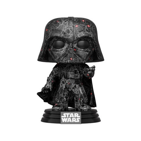 Darth Vader Futura Funko Pop! Star Wars Target Exclusive Vinyl Figure With Pop! Stack - CharactersCo.com