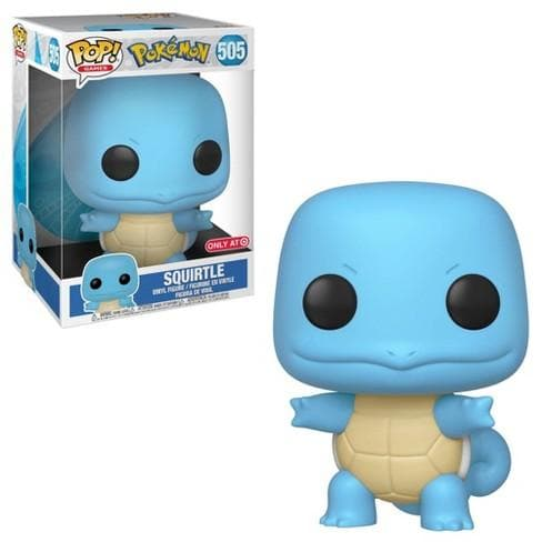 "10"" Squirtle Pokemon Funko Pop! Games Target Exclusive Vinyl Figure - CharactersCo.com"