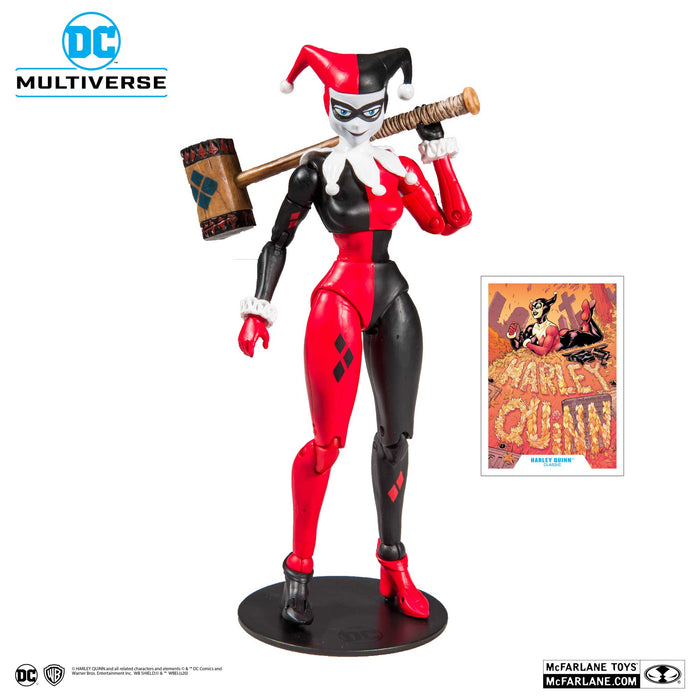 "McFarlane DC Multiverse Harley Quinn Classic 7"" Collectible Action Figure - Characters Co"