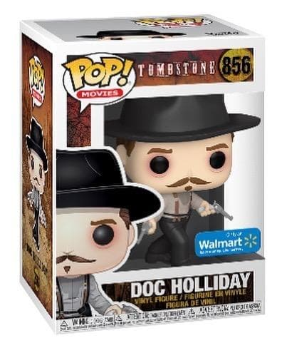 Doc Holliday (Dual Wielding) Exclusive Funko Pop! Tombstone Movies Vinyl Figure - Characters Co