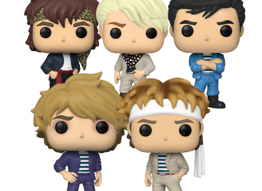 Complete Set of 5 Duran Duran Funko Pop! Music Vinyl Figures (Pre-Order) - Characters Co