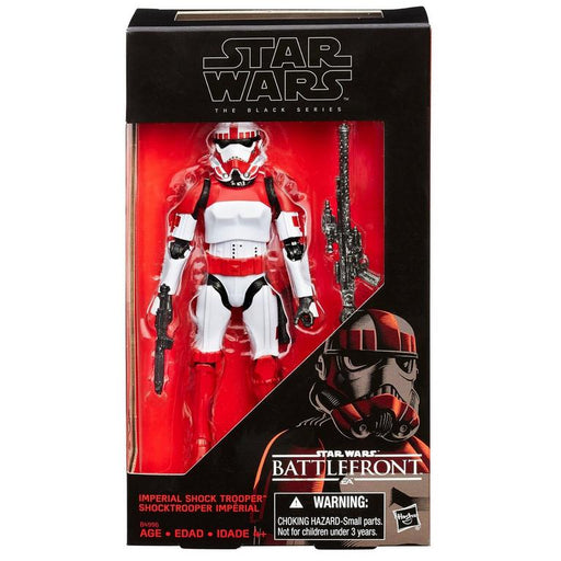 Star Wars Battlefront - Black Series Imperial Shock Trooper Action Figure - Characters Co